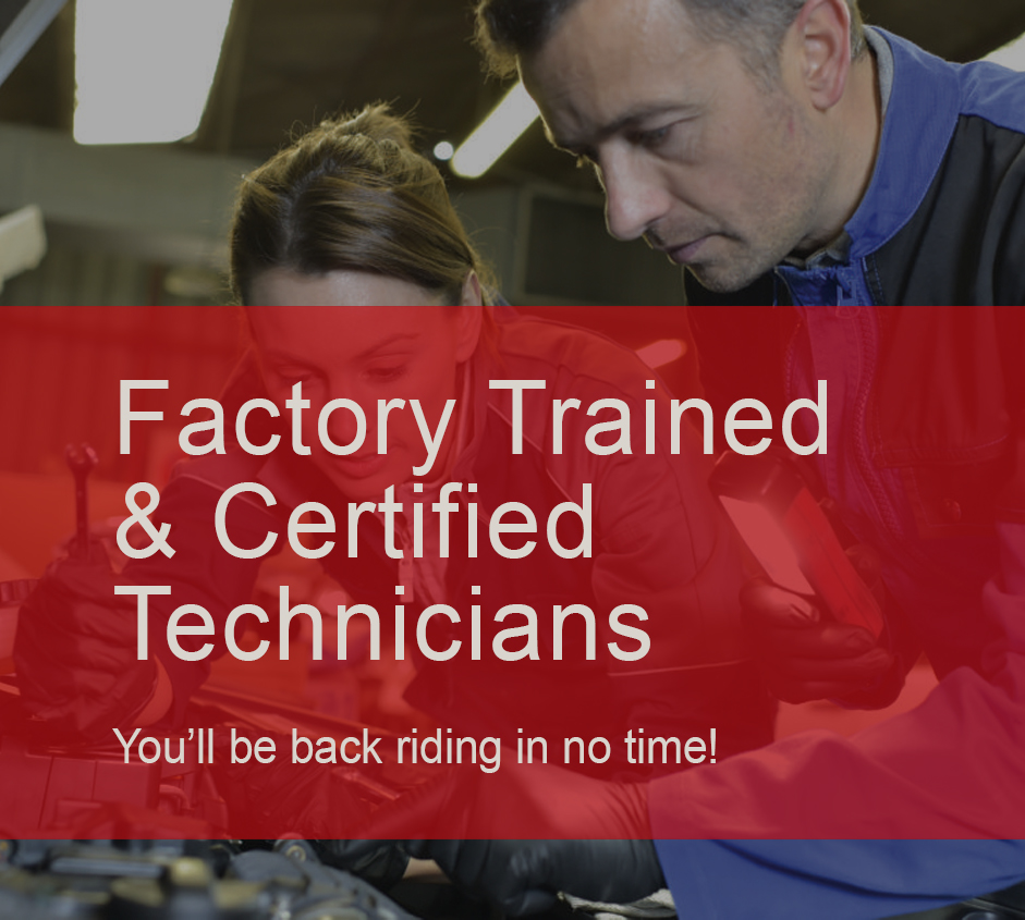 Factory trained technicians